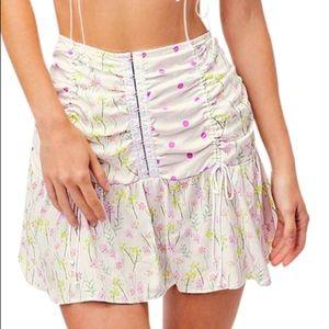 For Love and Lemons streudel mini skirt!!